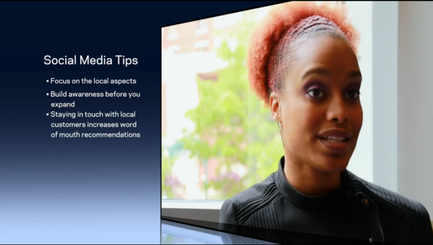 Social Media Tips with Crystal Washington