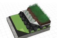 Drainage System for Green Roofs From Cosella Dorken