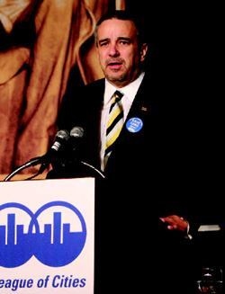 Jim Hunt, councilmember in Clarksburg, W.Va., said at the NLC conference that municipal leaders must strive to bring their concerns to the attention of federal officials.