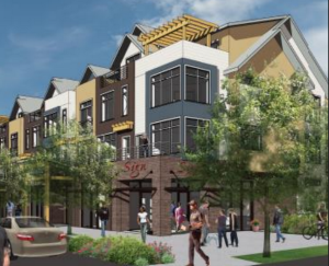 William Lyon Homes' Polygon Northwest will build a 176 unit mixed-use neighborhood in Bellevue, Wa.