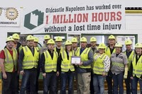 Safety Awarded at Oldcastle Precast