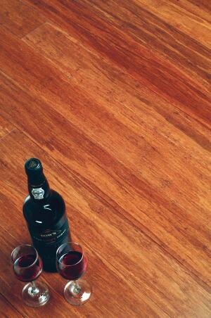 ECOTIMBER. This company manufactures traditional hardwood flooring products along with strand woven bamboo flooring under the name EcoBamboo. This flooring is available in tongue-and–groove lengths for nail-down, glue-down, and radiant floor (floating) installation. According to the company, EcoBamboo flooring measures 2800 on the Janka hardness scale, or 233% harder than red oak. Manufactured with no added urea-formaldehyde adhesives, the flooring meets both European E1 and U.S. 2012 CARB standards for indoor air quality, and is LEED qualified. 877.740.9420.   www.ecotimber.com.