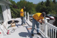 Use New Railings To Enliven Old Decks