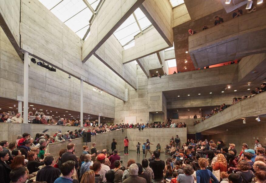 berkeley art museum closes in mario ciampi's brutalist building