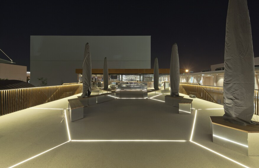 2015 al design awards u k pavilion milan expo 2015 for Pavilion cost per square foot