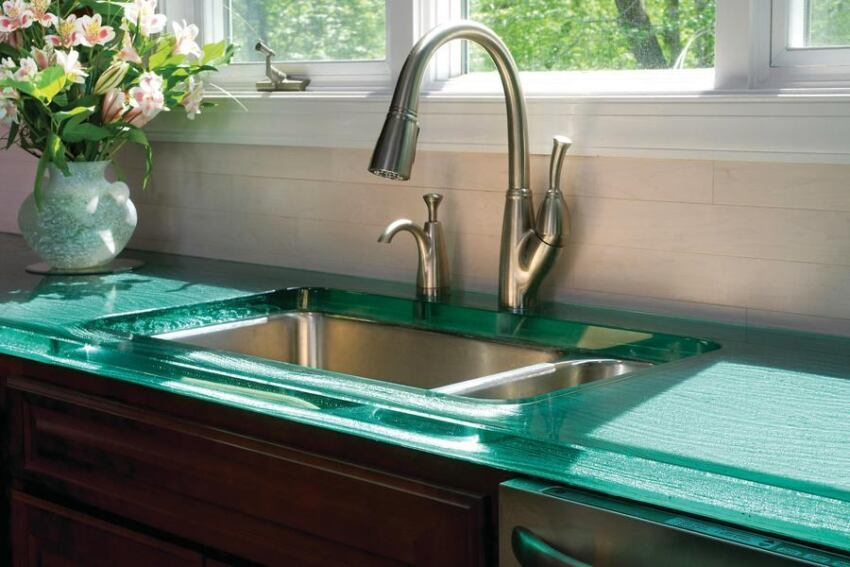 Glass Countertops by ThinkGlass
