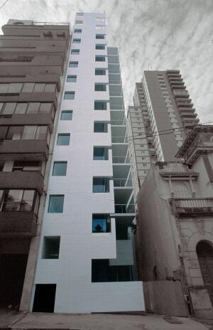 Altamira Residential Building in Rosaria, Argentina, by Rafael Iglesia