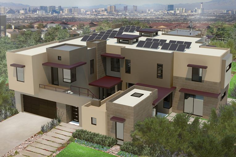 The 2014 New American Home to Achieve Highest Levels of Sustainability
