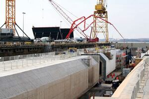 High-Performance Concrete for Underwater Tunnel