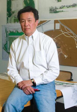 John Wong, managing principal, SWA Group, Sausalito, Calif.