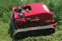 Remote-controlled mower