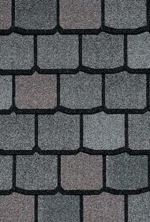 Centennial Slate roofing tileCertainTeedwww.certainteed.com  Asphalt roofing shingle system that mimics natural slate -Proprietary color application process allows for color variation like natural stone -Available in six color profiles