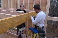 Slideshow: Framing a Loft