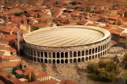 Verona Arena Roof