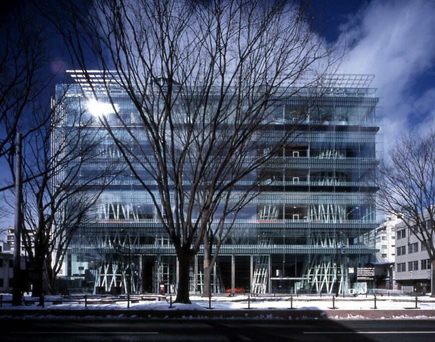 Sendai Mediatheque, Sendai-shi, Miyagi, Japan, 2000.