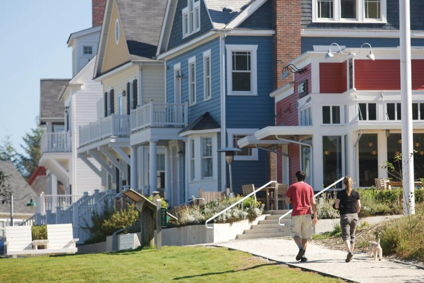 Resort Community Defies Slump