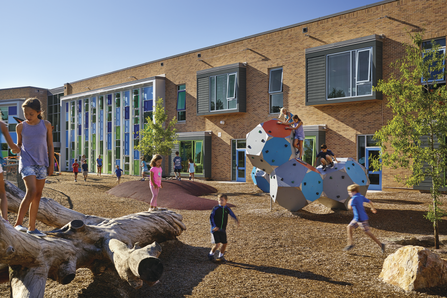 VMDO Architects' Discovery Elementary School in Arlington, Va.