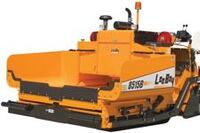 High-or low-deck convey or asphalt paver