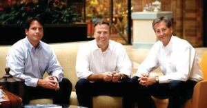 GROUP EFFORT: The Greystar Real Estate Partners executive team: (left to right) CFO Derek Ramsey, president  and CEO Bob Faith, and COO Bill Maddux.