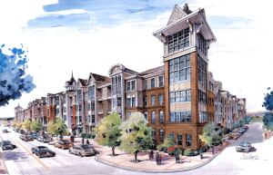 Now under construction: Olde Towne Gaithersburg, one of Englewood, Colo.-based Archstone's recent groundbreakings in the larger DC metro region.