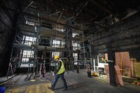 Restoration Begins at Fire-Damaged Glasgow School of Art Mackintosh Building