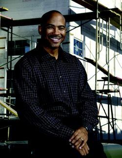 "FIRST CHOICE: Allen Warren says that African-American home buyers in the Sacramento, Calif., area ""almost automatically"" seek out his company, New Faze Development, which has been in business 15 years and currently builds more than 100 homes annually."