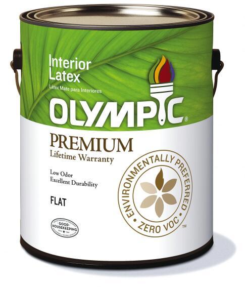 Olympic Paint Zero-VOC/Low-Odor Premium Interior Paint
