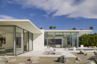 Contemporary Retreat Uses Passive Cooling to Embrace Desert Heat