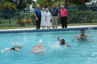 Pool Renovation Donated to Special Needs Center