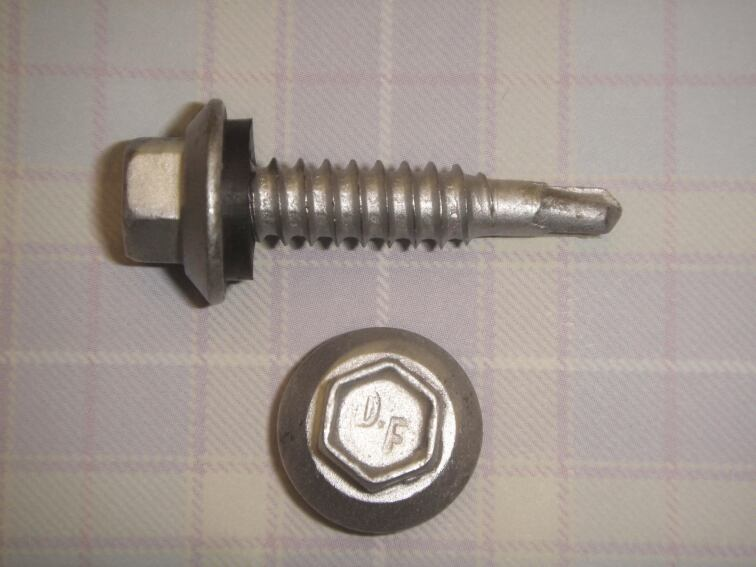 Fastener Suited for Metal Roofs