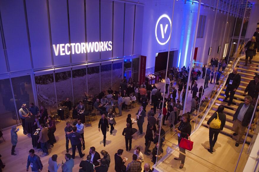 Vectorworks Summit 2016 was held in Chicago.