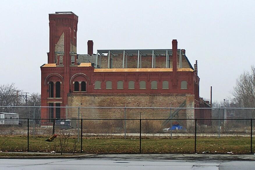 Administration building, Pullman, Ill.
