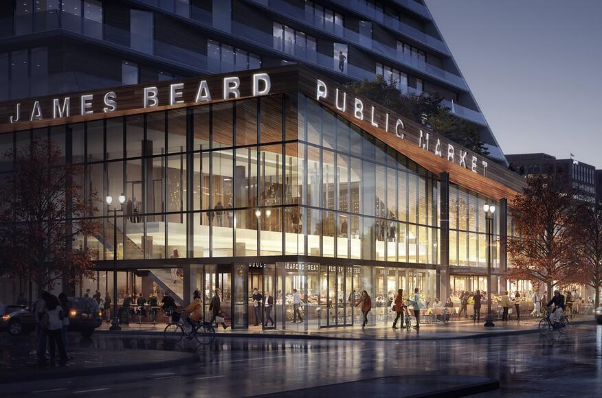 Modern Architecture Portland james beard public market   architect magazine   snøhetta