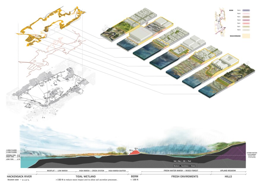 Diagrams of the New Meadowlands Project