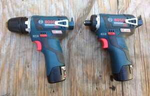 The PS32 Drill/Driver and PS22 Hex Drill/Driver have brushless motors. The technical term would be electronically commutated (EC), a design which yields greater runtime and longer motor life.