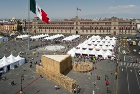 Pavilion on the Zocalo
