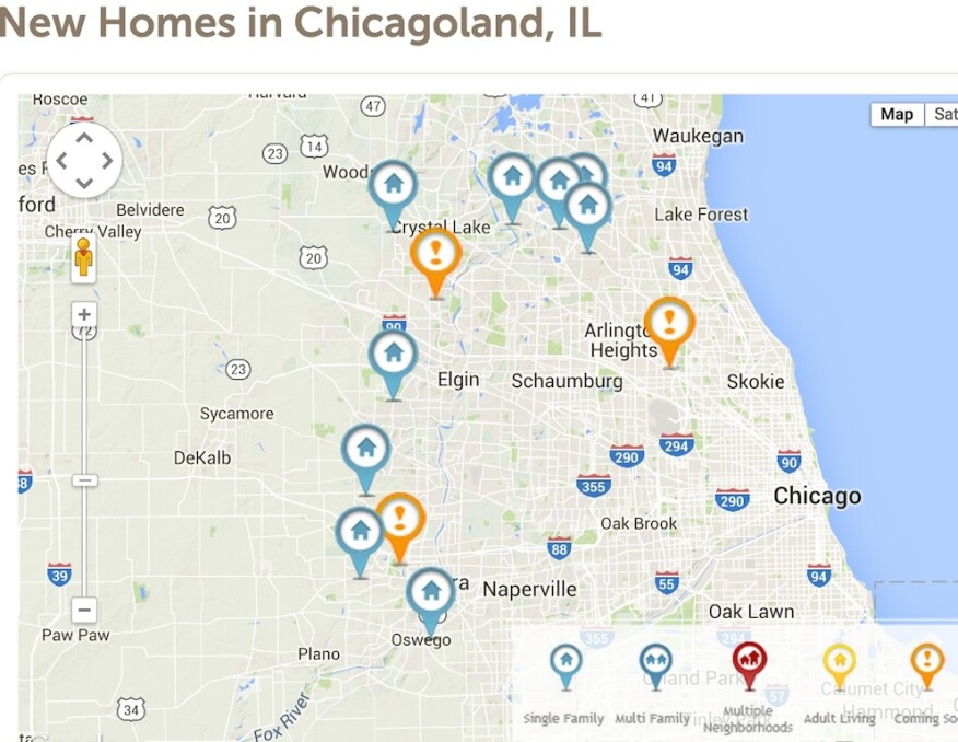 Taylor Morrison's acquisition of Orleans Homes' Chicago operation gives it a new beachhead.