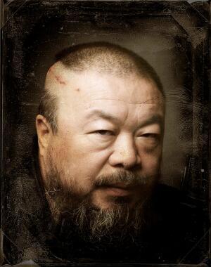 Ai Weiwei self portrait