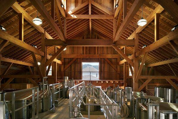 Nickel & Nickel Winery in Oakville, California by Taylor Lombardo Architects.