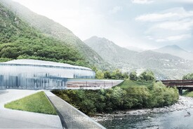 Snøhetta's Proposal for S. Pellegrino Flagship Factory