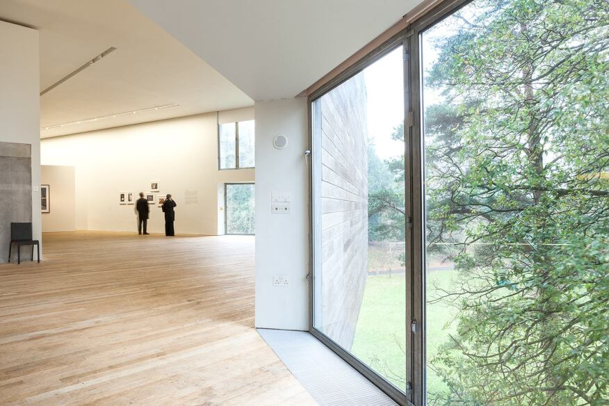 Lewis Glucksman Gallery, Cork, Ireland, shortlisted for the RIBA Stirling Prize in 2005.
