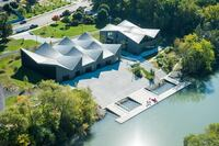 2015 Triad Award Nominee: Clark Park Boat House Pervious Concrete Paving