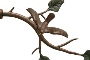 The Finial Co Single Bird on Branch Botanicals Collection