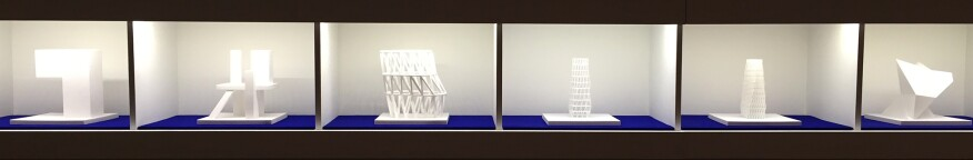Exhibit models showing common architectural tropes and themes that can't be copyrighted