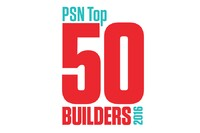 2016 Top 50 Builder Activity in Segments, Social Media and Associations