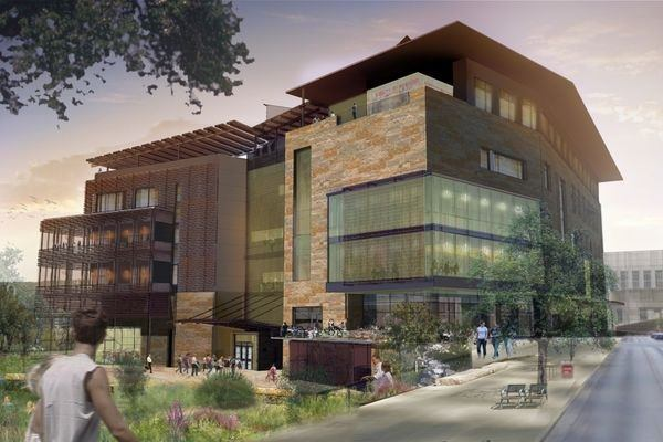 The library project will serve as an anchor for the renovated Seaholm District.