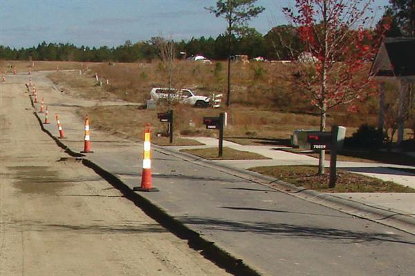 Road Work ELA surprised existing homeowners by immediately repaving.