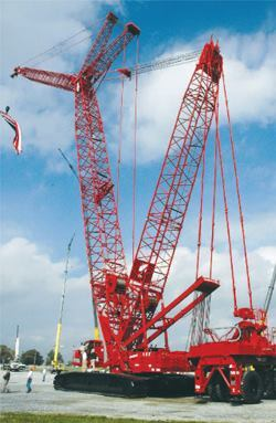 Choose the right crane for the job and remain aware of jobsite conditions.