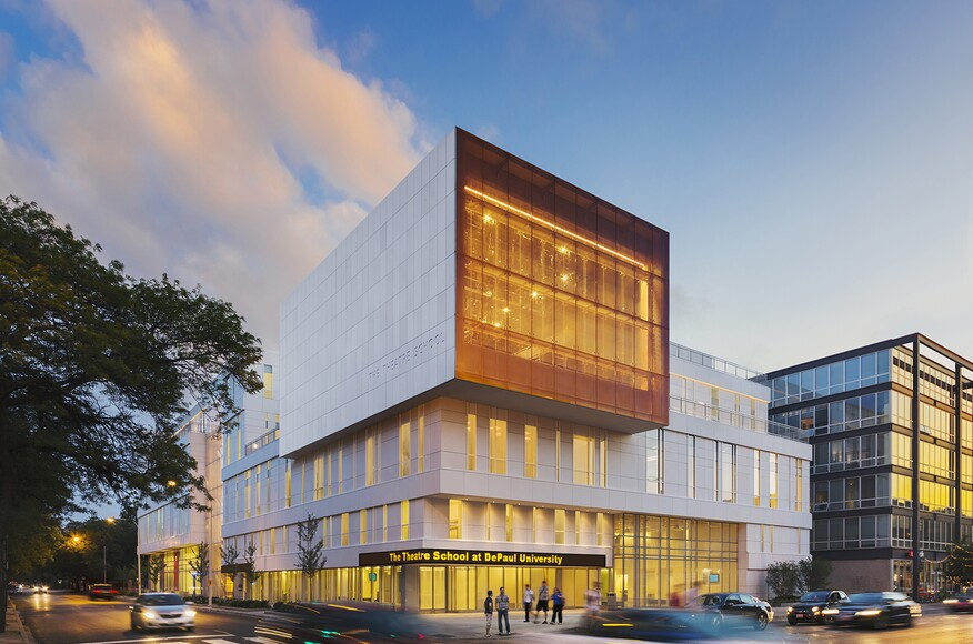 The Theatre School At Depaul University Architect
