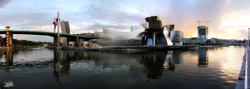 The Guggenheim Bilbao, by Gehry Partners.